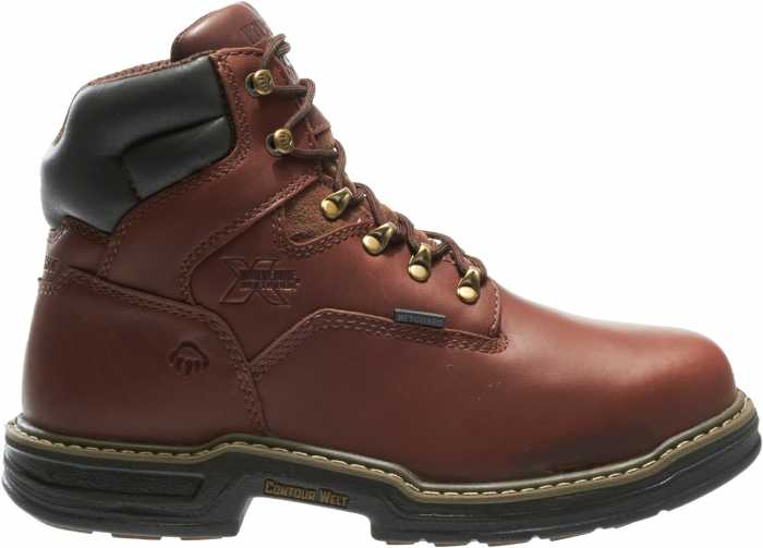 Wolverine WW2406 Darco Men's Brown, Steel Toe, EH, Internal Met Guard