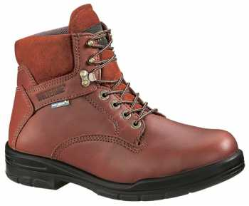 Wolverine DuraShocks SR WW3120 Brown Steel Toe, Electrical Hazard Men's 6 Inch Work Boot