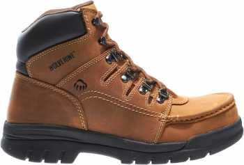 Wolverine WW4349 Potomac, Men's, Brown, Steel Toe, EH, British Moc, 6 Inch Boot