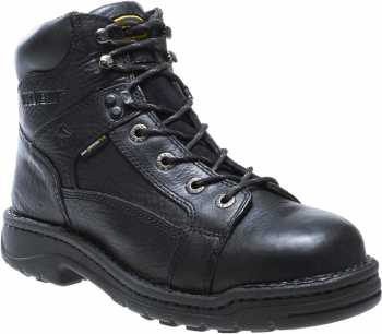 Wolverine WW4421 Exert Men's, Black, Steel Toe, EH, 6 Inch Work Boot