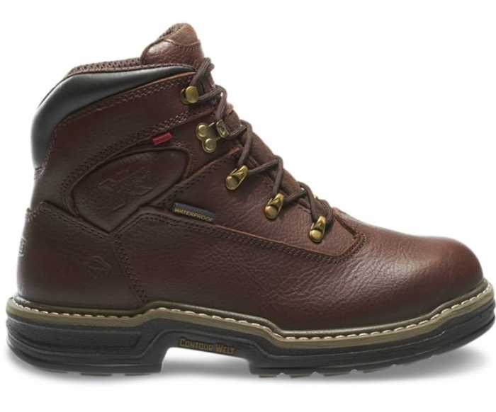 Wolverine WW4820 Buccaneer, Men's, Brown, Steel Toe, EH, WP, 6 Inch Boot