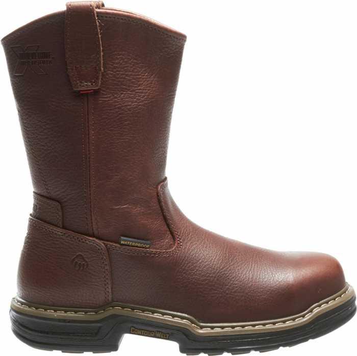 Wolverine WW4826 Buccaneer, Men's, Brown, Steel Toe, EH, WP, Pull On Boot