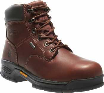 Wolverine WW5685 Harrison Brown, Soft Toe, Gore-Tex, Men's 6 Inch Work Boot