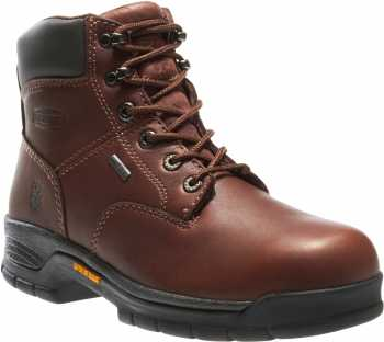 Wolverine WW5685 Harrison Brown, Soft Toe, Gore-Tex, Men's 6 Inch Work Boot