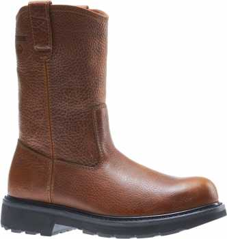 Wolverine WW8377 Herrin, Men's, Brown, Steel Toe, EH Wellington