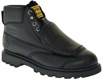 Work Zone WZM612 Men's, Black, Steel Toe, EH, External Met Boot