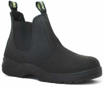 Work Zone WZN660-BL Men's, Black, Soft Toe, Twin Gore Panel Boot