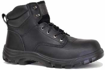 Work Zone WZN691-BL Men's, Black, Soft Toe, 6 Inch Boot