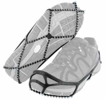 Yaktrax Walker Black Men's and Women's Rubber Steel Coil Men's sizes 9 to 11 and Women's sizes 10 and a half to 12