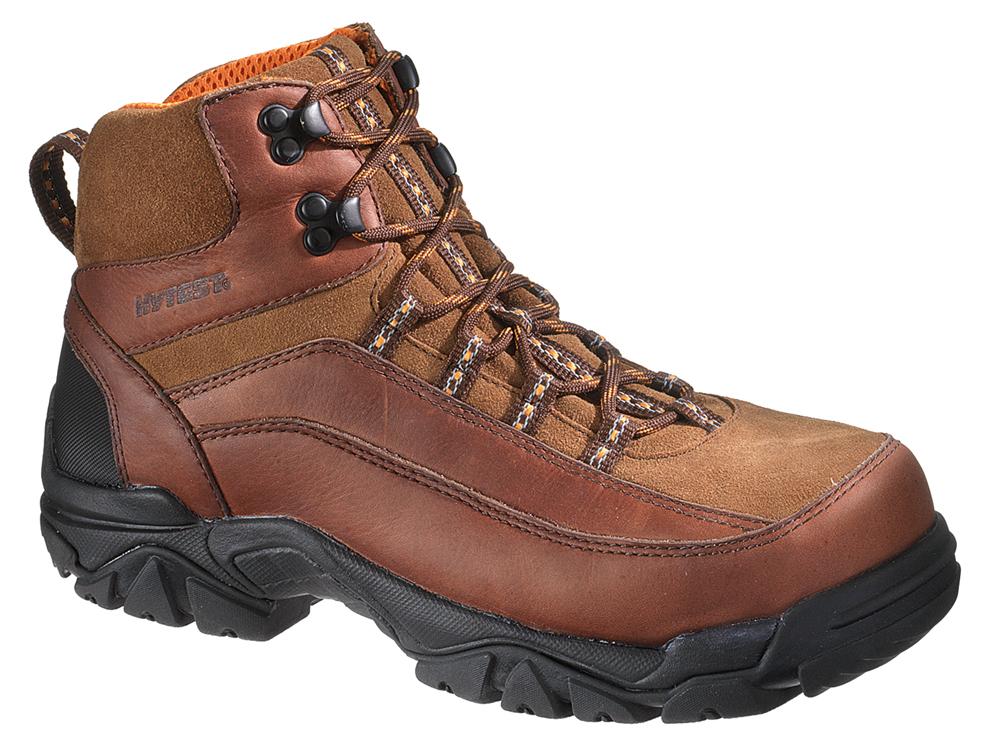 b6a5d1bad5d HyTest Brown Hiker Men's Steel Toe