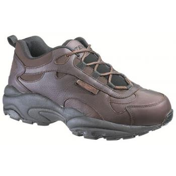 HyTest 10071 Brown Conductive Steel Toe Unisex Athletic Oxford
