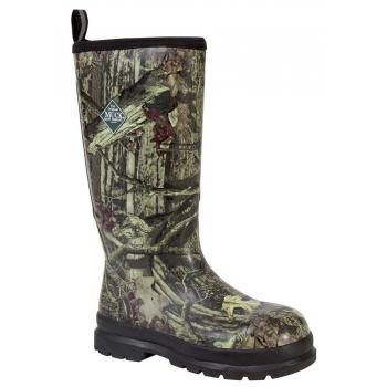 Muck MCPCSINFT Unisex Chore Pro Cool, Camo, Steel Toe, EH, Rubber Boot