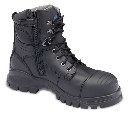 d171d98a79e Blundstone Men's Steel Toe EH Side Zip Boot