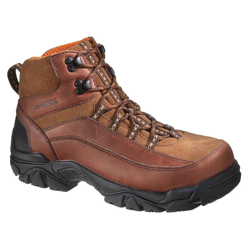 1428b111aa1 HyTest Brown Hiker Men's Steel Toe