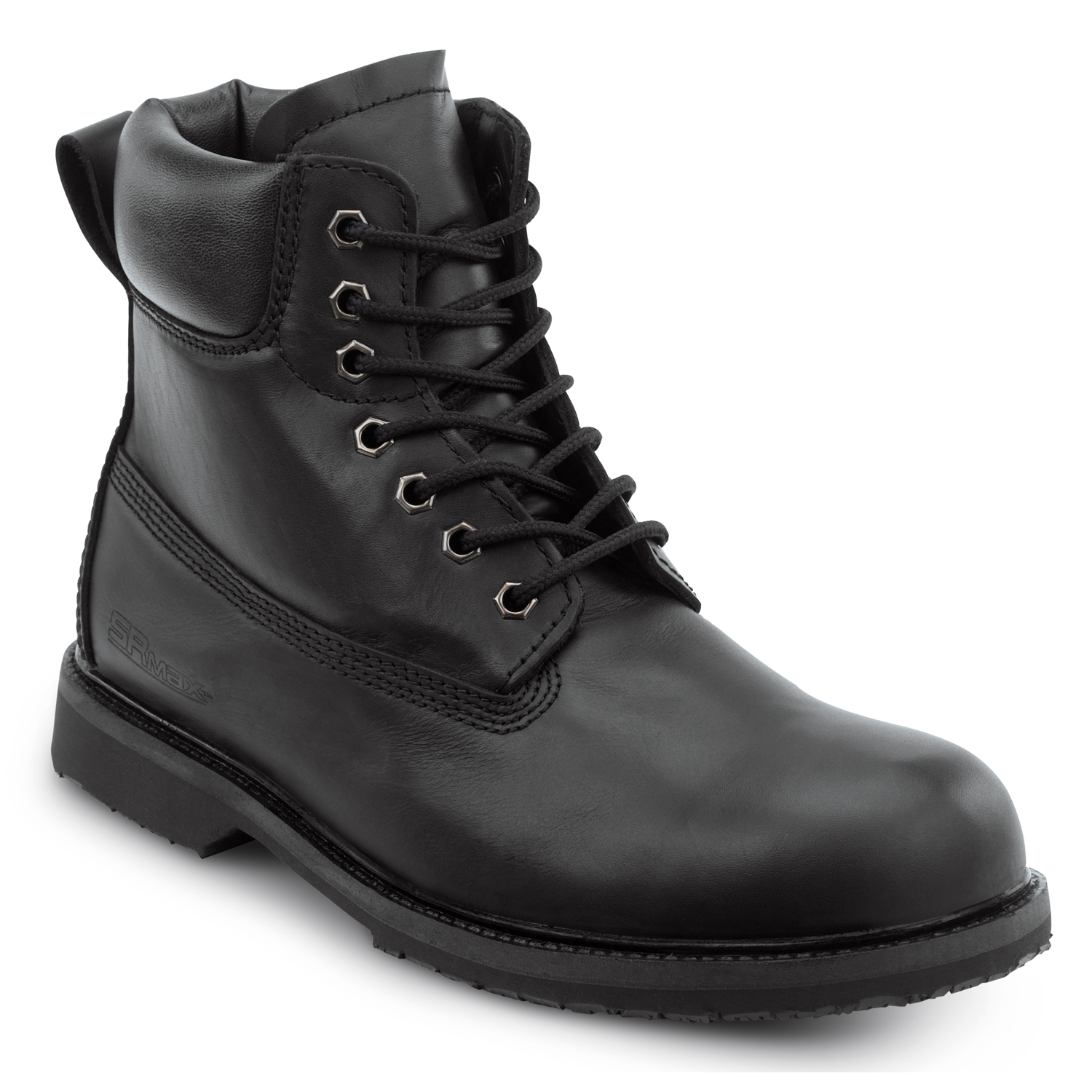 Black Work Boots Men