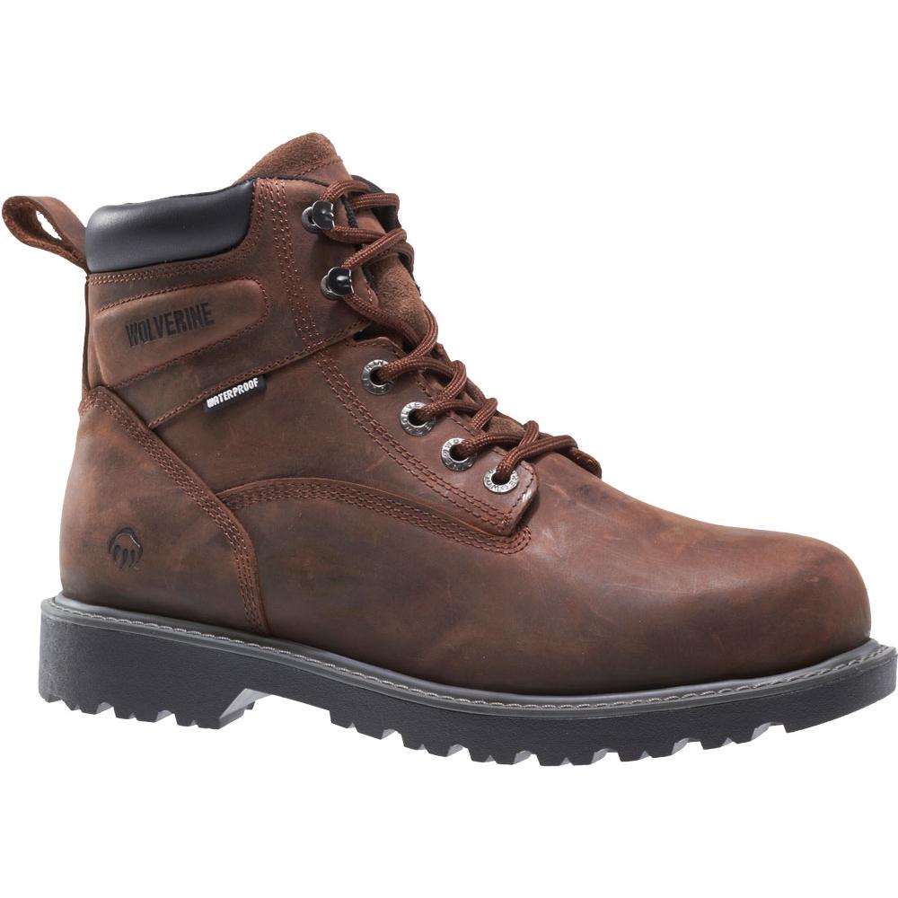 0bd4e3d3165 Wolverine Floorhand Men's Steel Toe EH 6 Inch Boot