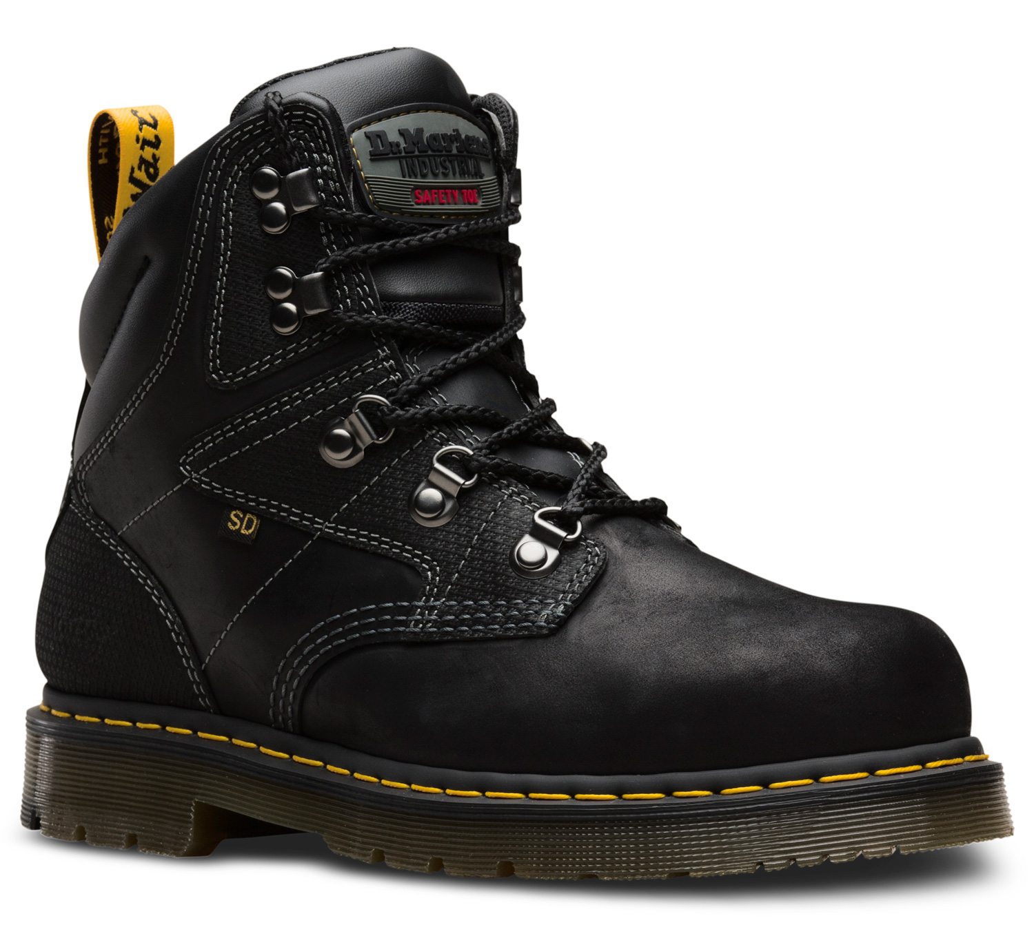 d3ae55df5a1 Dr. Martens Men's Steel Toe SD 6 Inch Boot