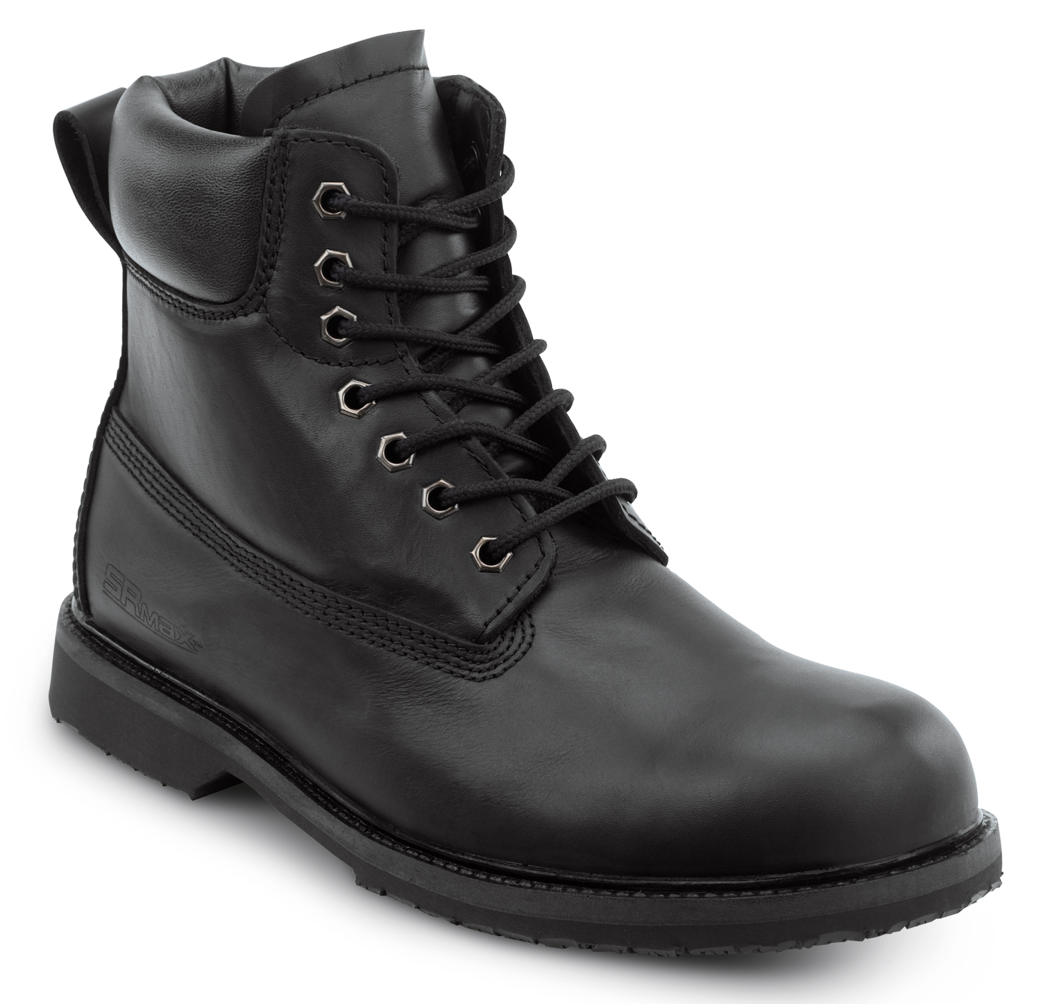 Mens Black Work Boots