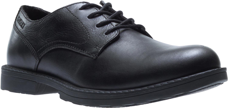 75e8cac3120 Wolverine Men's Black Steel Toe EH Oxford