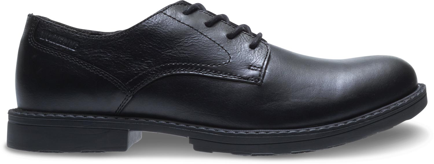 77f2f49d829 Wolverine Men's Black Steel Toe EH Oxford